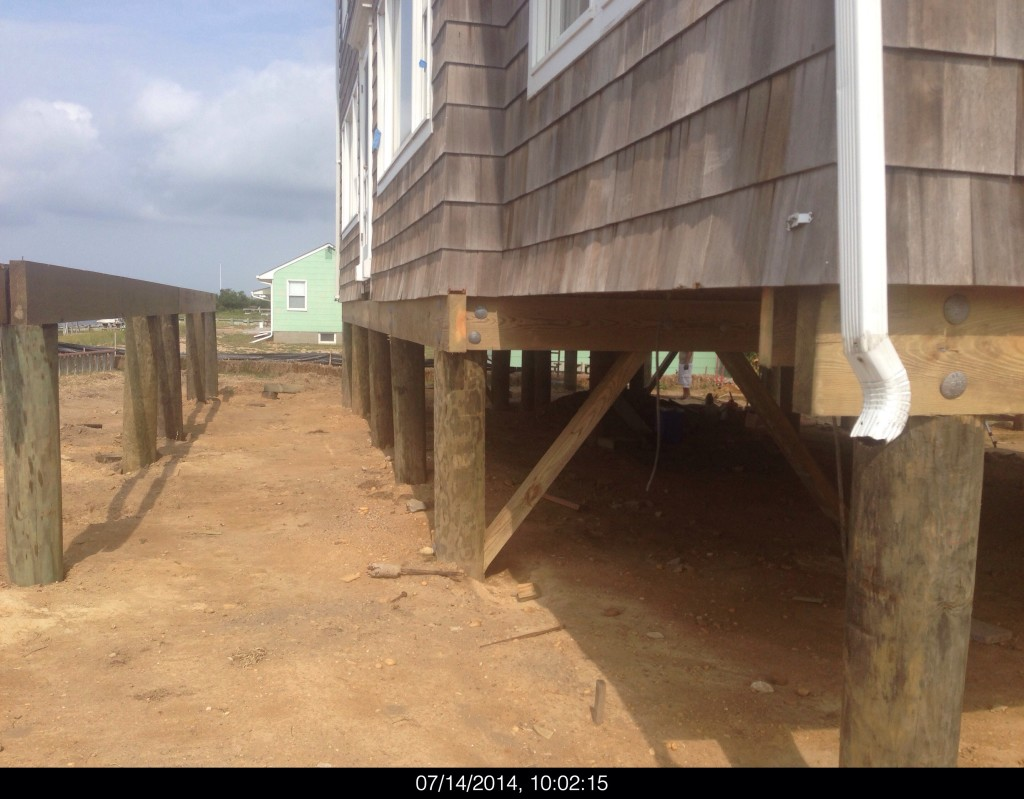 Fema compliance fischetti engineering for House piles